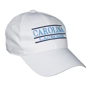 North Carolina Chapel Hill Lax Snapback Lacrosse Bar