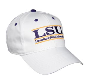 Louisiana State Snapback College Bar Hats By The Game