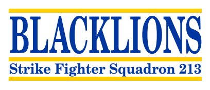 BLACKLIONS Strike Fighter Squadron 213