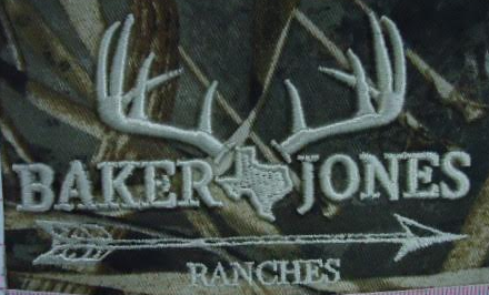 Baker Jones Ranches sew out