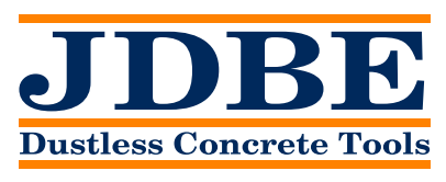Dustless Concrete Tools JDBE