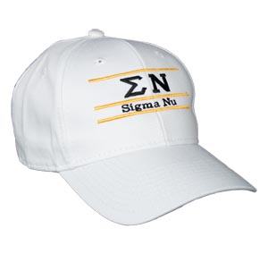 Sigma Nu Greek Letter Fraternity Snapback Bar Hats By The Game