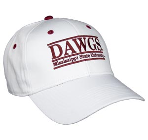 Mississippi State Snapback College Nickname Bar Hats By